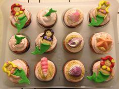 Mermaid Cupcakes by @Marisa Russo