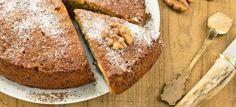 Heerlijke walnotentaart recept, met maar 5 ingrediënten. De taart is binnen een uur te bereiden en bovendien zijn walnoten ook nog eens super gezond!