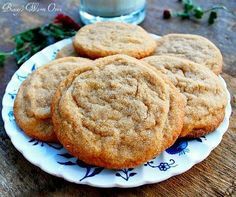 Peanut Butter Cookies that are crispy around the edges and soft and chewy in the middle