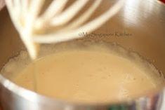 My Singapore Kitchen. Hot Milk Sponge Cake Recipe, Vanilla Butter Cake Recipe, Buttermilk Scone Recipe, Vanilla Sponge Cake, Sponge Cake Recipes, Pound Cake Recipes, Beignets, Resep Cake, Victoria Sponge Cake