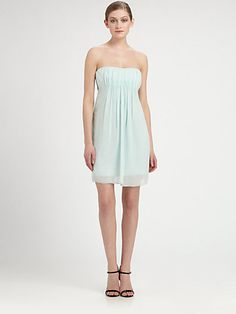 Alice + Olivia - Stretch Silk Cutout Dress - Saks.com