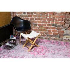Vintage Pinkpop – Silver Pink Brinker Carpets