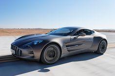 Aston Martin One-77, Costs 25 crores (5 million USD) in India.. :O
