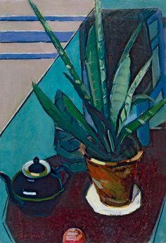 Арс. Семёнов. Натюрморт с цветком. 1972