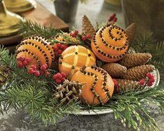 Fragrant Christmas oranges