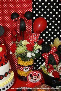 Bella's Bowtique Minnie Mouse Party