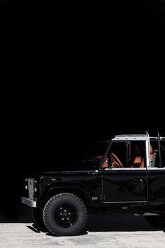Jet Black Custom Land Rover Defender