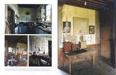 "Le Château in ""World of Interiors"" 2004 July issue- 3 