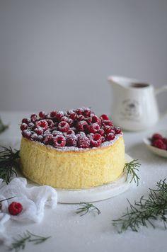 Condensed milk soufflé cheesecake