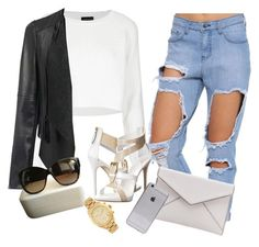 """""""Untitled #177"""" by alex-xoxo-16 ❤ liked on Polyvore featuring Topshop, Giuseppe Zanotti, Marc Jacobs, Rebecca Minkoff and Michael Kors"""