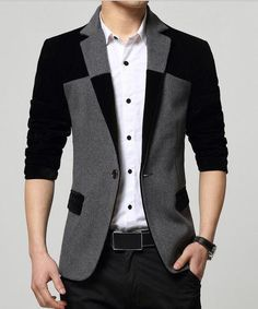 UNIVOS KUNI Blazers Fashion Blazer Suit Dress Patchwork Suits Business Jacket