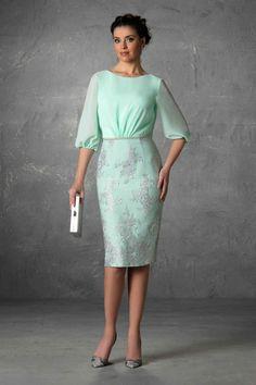 Dresses of Madrina Esthefan and Fiesta 2018 - Creating Trend - Entrenovias Modest Dresses, Elegant Dresses, Pretty Dresses, Vintage Dresses, Beautiful Dresses, Short Dresses, Formal Dresses, Mother Of Bride Outfits, Mother Of Groom Dresses