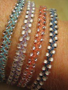Ketten mit Perlen flechten