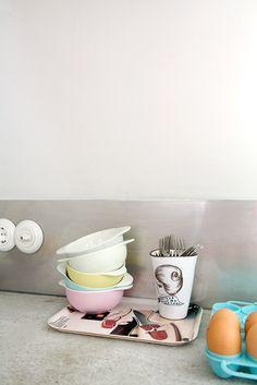 Kitchen with concrete top. Amsterdam. Contemporary. Photo by Jansje Klazinga JKF@