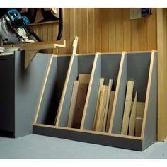 Lumber storage - Cut Off Lumber Rack Storage Unit Woodworking Plan, Shop Project Plan WOOD Store Woodworking Shows, Beginner Woodworking Projects, Woodworking Patterns, Popular Woodworking, Woodworking Furniture, Woodworking Crafts, Woodworking Plans, Woodworking Quotes, Woodworking Classes