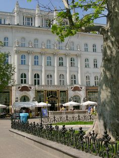 Gerbeaud Café in Budapest, Hungary. Stylish outing for some pastries and best coffee downtown Budapest. Saint Marin, Travel Around The World, Around The Worlds, Capital Of Hungary, Central Europe, Kirchen, Eastern Europe, Cool Places To Visit, Beautiful Places