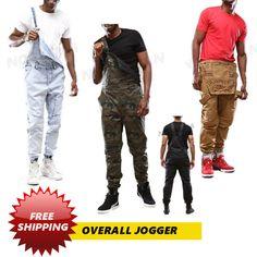 MEN'S OVERALL WAX COAT JOGGER PANTS | Clothing, Shoes & Accessories, Men's Clothing, Pants | eBay!