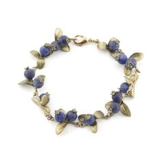 Blueberry Bracelet by Michael Michaud
