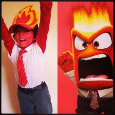 anger inside out costume