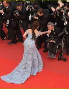 Aishwarya at Cannes red carpet