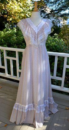 Gunne Sax Maxi Dress - Romantic Prairie  Dress