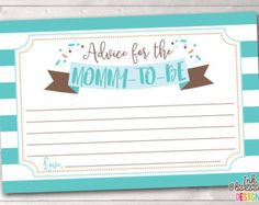 Baby imprimable souhaits carte coloré par InkObsessionDesigns