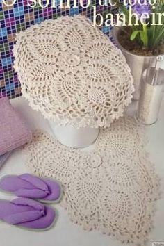 Resultado de imagem para graficos de jogos de banheiros em croche
