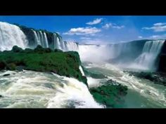 Iguazu Falls, also known as Iguassu or Iguaçu Falls. These waterfalls are situated on the border of Argentina and Brazil. Places To Travel, Places To See, Travel Destinations, Dream Vacations, Vacation Spots, Vacation Travel, Vacation Packages, Warung Beach Club, Brazil Argentina