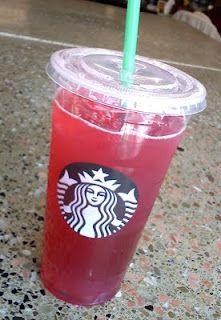 Iced Passion Tea Lemonade from Starbucks ❤️❤️❤️