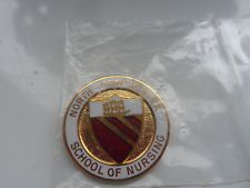 North Manchester(Crumpsall) General Hospital Nursing Badge 1987..never worn in Collectables, Badges/ Patches, Medical/ Nursing/ Red Cross | eBay