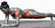 Questo è uno degli esercizi più importanti per rafforzare e migliorare la parte centrale del corpo, in particolare l'addome.