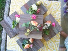 cake stand cupcake wood stand 10 x 10 rustic Box Plate Barn wood Reclaimed outdoor Vintage Wedding country