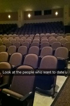 Why is Casper and his friends sitting in those seats like... they wanna date me? ... Suckers, I got ghosts. >:)