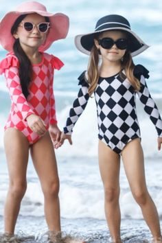 Looking for combo swimsuit for your girl and her friend, then this one-piece swimsuit is perfect choice for you. They can show their strong friendship and with this cute swim set.  #summer #set #swimsuit #bathingsuit #girlsswim #shopping #fashion #online #collection #sale #discount #offers #one_piece_swimsuit Unique Swimsuits, Two Piece Swimsuits, Toddler Swimsuits, Girls One Piece Swimsuit, Swim Sets, Kids Swimwear, Rash Guard, Fashion Prints, Tutu