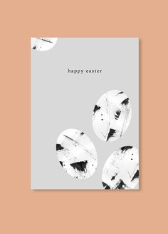 Free Minimalistic Easter Card | Printable