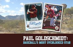 Paul Goldschmidt is one of the best players in baseball. Period. His stats over the last few years put him in baseball's elite. And while collectors flock to the likes of Mike Trout, Bryce Harper and Kris Bryant, Paul Goldschmidt cards are more akin to a tumbleweed blowing through the scorching desert sand.