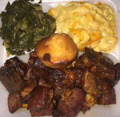 Sunday Dinner Recipes, Southern Sunday Dinner Ideas, Food Cravings, I Love Food, Food Porn, Cooking Recipes, Yummy Food, Soul Food Meals, Soul Food Recipes
