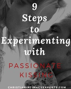 9 Steps to Experimenting with Passionate Kissing. Check it out on our blog. #christian #christianmarriage #christiansex #marriedsex #sexualdesire #nosex #marriagetips #wife #romance #romantic #intimacy intimacycoach #marriagematters #husband #marriageministry #husbandandwife #marriageisforever #marriagehelp #godlymarriage #marriageisbeautiful #passionate #passionatekissing #frenchkissing #turnoff Christian Couples, Christian Love, Christian Marriage, Intimacy In Marriage, Marriage Help, Marriage Advice, Wife Affair, Affair Recovery, Premarital Counseling