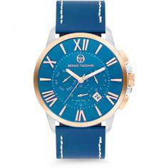 Ceasuri Barbati - Sergio Tacchini Watches - page 4 Omega Watch, Smart Watch, Watches, City, Leather, Men, Accessories, Collection, Fashion