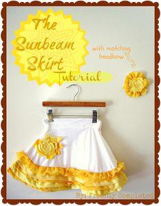 The Sunbeam Skirt Tutorial