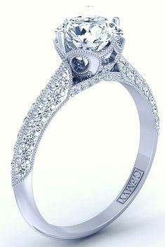 PAVE DIAMOND ENGAGEM