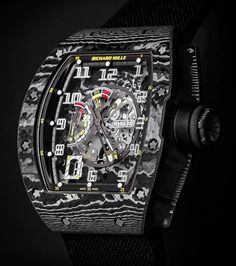 The Richard Mille RM 030 NTPT Carbon. Limited edition of 30 pieces.