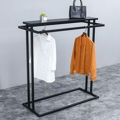 Cheap Clothing Store Displays Stand For Sale - Boutique Store Fixtures Manufacur. Cheap Clothing Store Displays Stand For Sale – Boutique Store Fixtures Manufacuring, Retail Shop Clothing Store Displays, Cheap Clothing Stores, Cheap Clothes, Retail Fixtures, Store Fixtures, Shop Interior Design, Store Design, Metal Clothes Rack, Clothes Racks