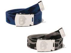 BAPE x UNDEFEATED Adjustable Camo Belt