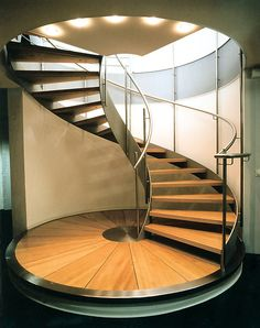 Nautilus Treppen GmbH & Co. KG - Spiral staircase in Plauen, Germany (Bank) 1994 / Nautilus