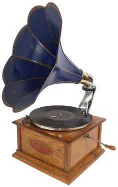 Standard Model A Phonograph with Morning Glory shaped horn.