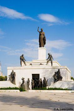Cyprus Lefkosia Monument of Freedom