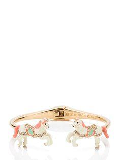 carnival nights unicorn open cuff - Kate Spade New York Fashion Bracelets, Fashion Jewelry, Kate Spade Bangle, Unicorn Jewelry, Glam And Glitter, Cuff Jewelry, Kids Jewelry, Glamour, Purse Wallet