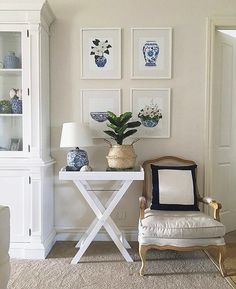 This serene scene featuring our antique butlers tray belongs to Instagrammer @beautiful_house_au.