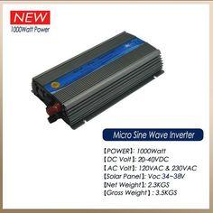 20-40Vdc input Indoor Type Pure Sine Wave Solar Grid Tie Inverter